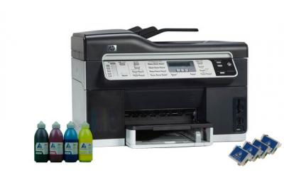 All-in-one HP OfficeJet Pro L7590 with refillable cartridges
