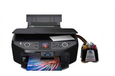 Epson Stylus Photo RX610/RX615 All-in-one InkJet Printer with CISS