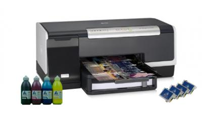 Prrinter HP OfficeJet Pro K5400dn with refillable cartridges
