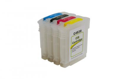 Refillable cartridges for HP K550