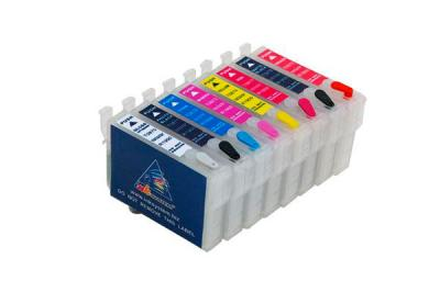 Refillable Cartridges for Epson Stylus Photo R800
