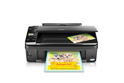 Epson Stylus NX210 All-in-one InkJet Printer with CISS