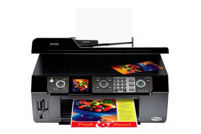 Epson WorkForce 500 All-in-one InkJet Printer with CISS
