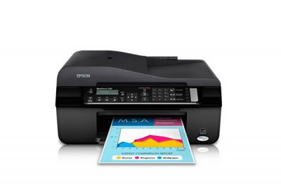 Epson WorkForce 525 All-in-one InkJet Printer with CISS