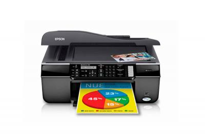 Epson WorkForce 310 All-in-one InkJet Printer with CISS