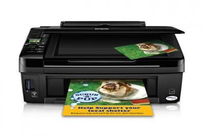 Epson Stylus NX420 with Refillable Cartridges