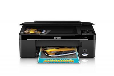 Epson Stylus NX127 with Refillable Cartridges