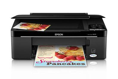 Epson Stylus NX125 with Refillable Cartridges