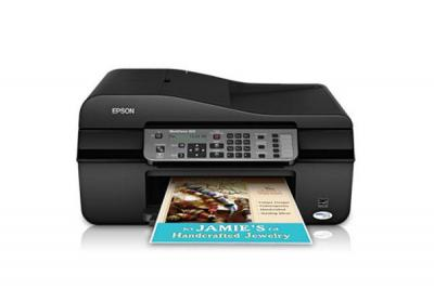 Epson WorkForce 323 with Refillable Cartridges