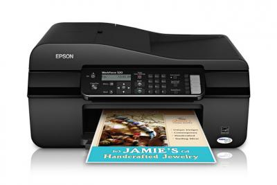 Epson WorkForce 320 with Refillable Cartridges
