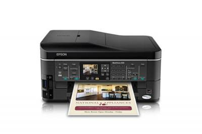 Epson WorkForce 633 with Refillable Cartridges