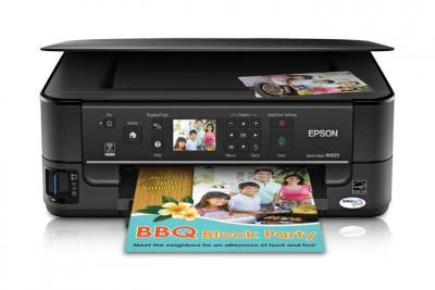 Epson Stylus NX625 with Refillable Cartridges