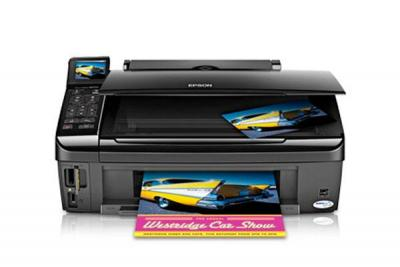 Epson Stylus NX510 with Refillable Cartridges