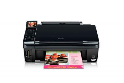 Epson Stylus NX415 with Refillable Cartridges