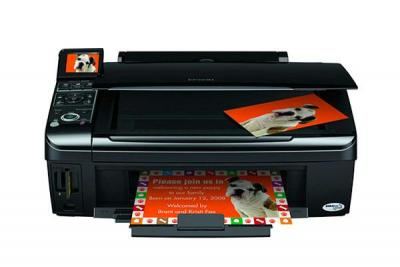 Epson Stylus NX400 with Refillable Cartridges