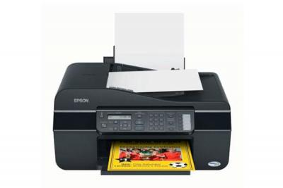 Epson Stylus NX300 with Refillable Cartridges