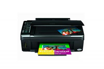 Epson Stylus NX200 with Refillable Cartridges