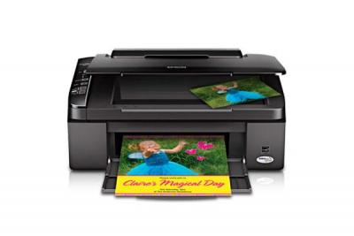Epson Stylus NX115 with Refillable Cartridges