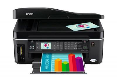 Epson WorkForce 600 with Refillable Cartridges