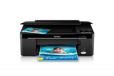 Epson Stylus NX130 with Refillable Cartridges
