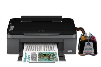 Epson Stylus TX106 All-in-one InkJet Printer with CISS
