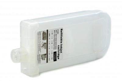 Refillable cartridges for Canon IPF 8000/8010S/8100/8110/9000/9100