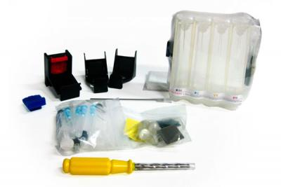 Continuous ink supply system (CISS) KIT for HP Deskjet 3650