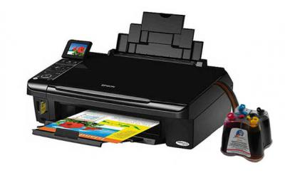 Epson Stylus TX400/409 All-in-one InkJet Printer with CISS