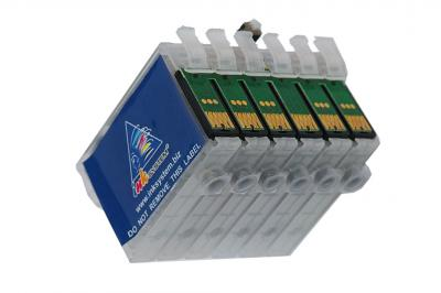 Refillable cartridges for Epson RX610/RX615