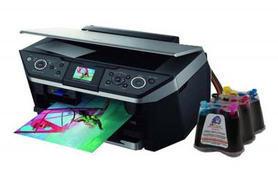 Epson Stylus Photo RX690 All-in-one InkJet Printer with CISS