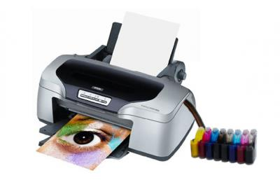 Epson Stylus Photo R800 Inkjet Printer with CISS