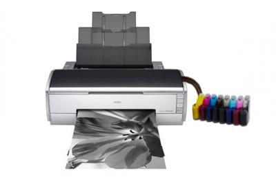 Epson Stylus Photo R2400 Inkjet Printer with CISS