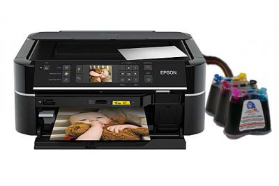Epson Stylus Photo TX650 All-in-one InkJet Printer with CISS