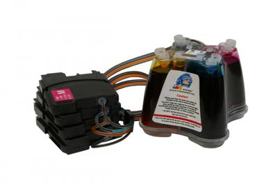 Continuous ink supply system (CISS) for BROTHER DCP-145C/165C MFC-250CR/290CR (980/990/38)