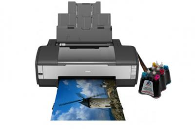 Epson Stylus Photo 1410 Inkjet Printer with CISS