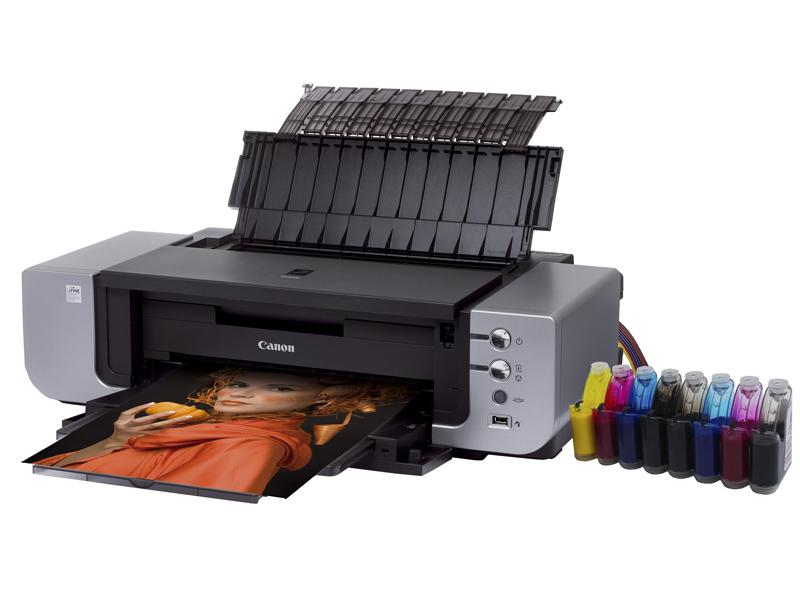 Canon pixma printer, inkjet photo printer canon with CISS: canon ...
