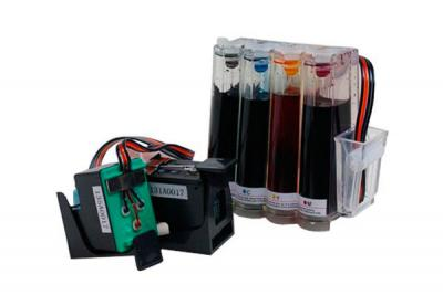 Continuous ink supply system (CISS) for HP DesignJet 500