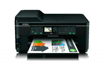 Printer Epson WorkForce WF-7515 with refillable cartridges