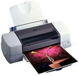 Epson Stylus Photo 1270 Inkjet Printer with CISS