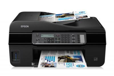 Epson Stylus Office BX305FW Plus with refillable cartridges