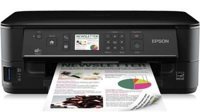 Epson Stylus Office BX535WD with refillable cartridges