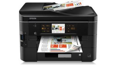 Epson Stylus Office BX935FWD with refillable cartridges