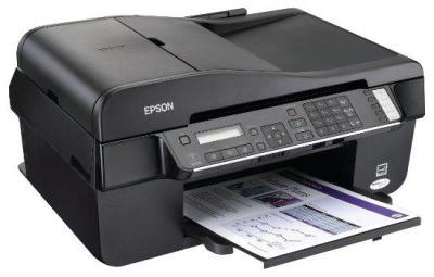 Epson Stylus Office BX320FW  with refillable cartridges