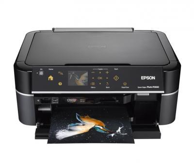 Epson Stylus Photo PX660 with refillable cartridges