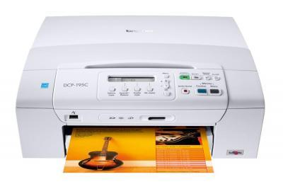 Brother DCP-195C All-in-One InkJet Printer with refillable cartridges