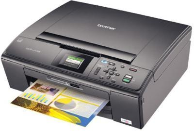 Brother DCP-J125 All-in-One InkJet Printer with refillable cartridges