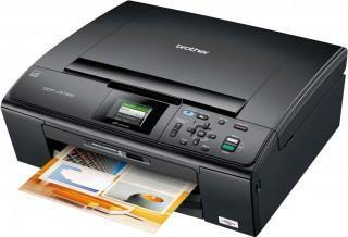 Brother DCP-J315W All-in-One InkJet Printer with refillable cartridges