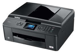 Brother MFC-J430W All-in-One InkJet Printer with refillable cartridges