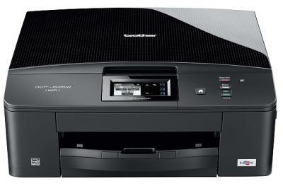 Brother DCP-J525W All-in-One InkJet Printer with refillable cartridges
