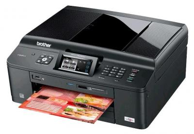 Brother MFC-J625DW All-in-One InkJet Printer with refillable cartridges